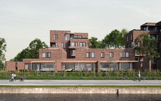 6% btw voor de woningen aan het water bij oHase in Hasselt